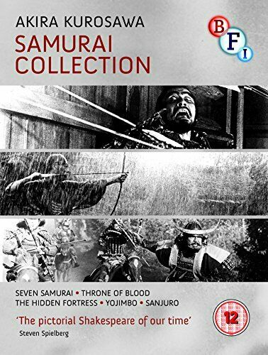 Kurosawa: The Samurai Collection [4 Blu-ray Disc Set] [1954] [DVD]