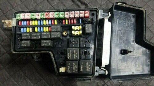 02-05 DODGE RAM 1500 3.7L 4.7L FUSE BOX INTEGRATED POWER MODULE P56049680AC  for sale onlineeBay