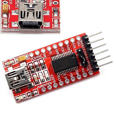 1PCS FT232RL FTDI 3.3 5V USB to TTL Serial Converter Adapter Module for Arduino