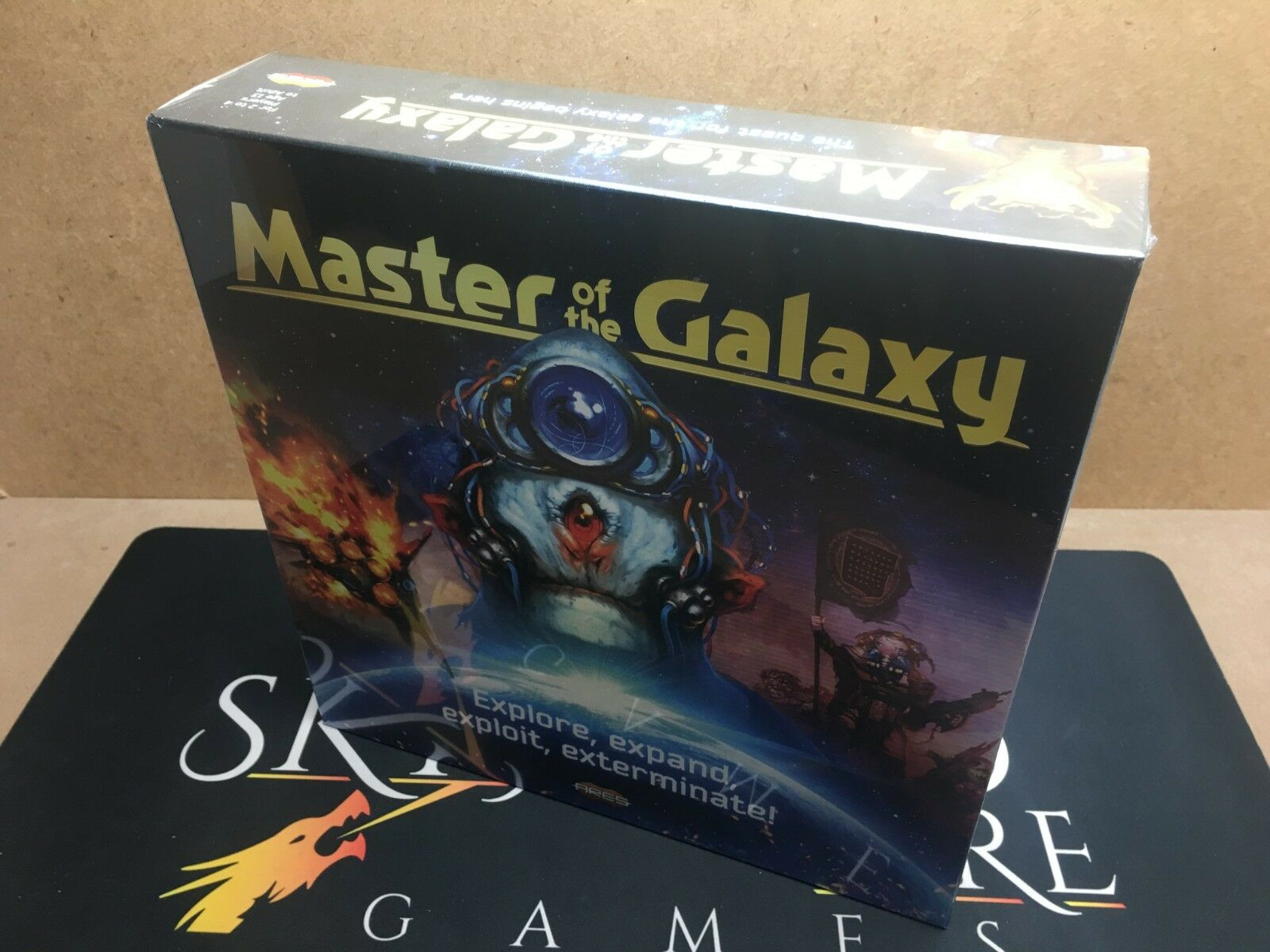 Master Master Master of the Galaxy Board Game - Ares Games (Genuine Sealed) 0951af