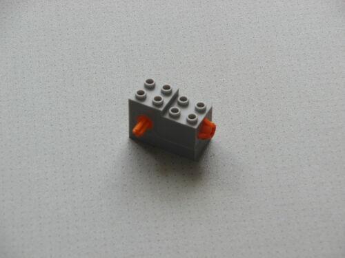 LEGO Star Wars 4 pz ALI PIASTRA 4 x 4 NUOVO GRIGIO CHIARO 43719 6093960 NUOVO