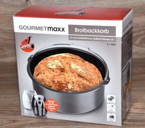 Brotbackkorb 1,1 L pour friteuse AIR CHAUD GRILL Friteuse de Gourmetmaxx NOUVEAU *