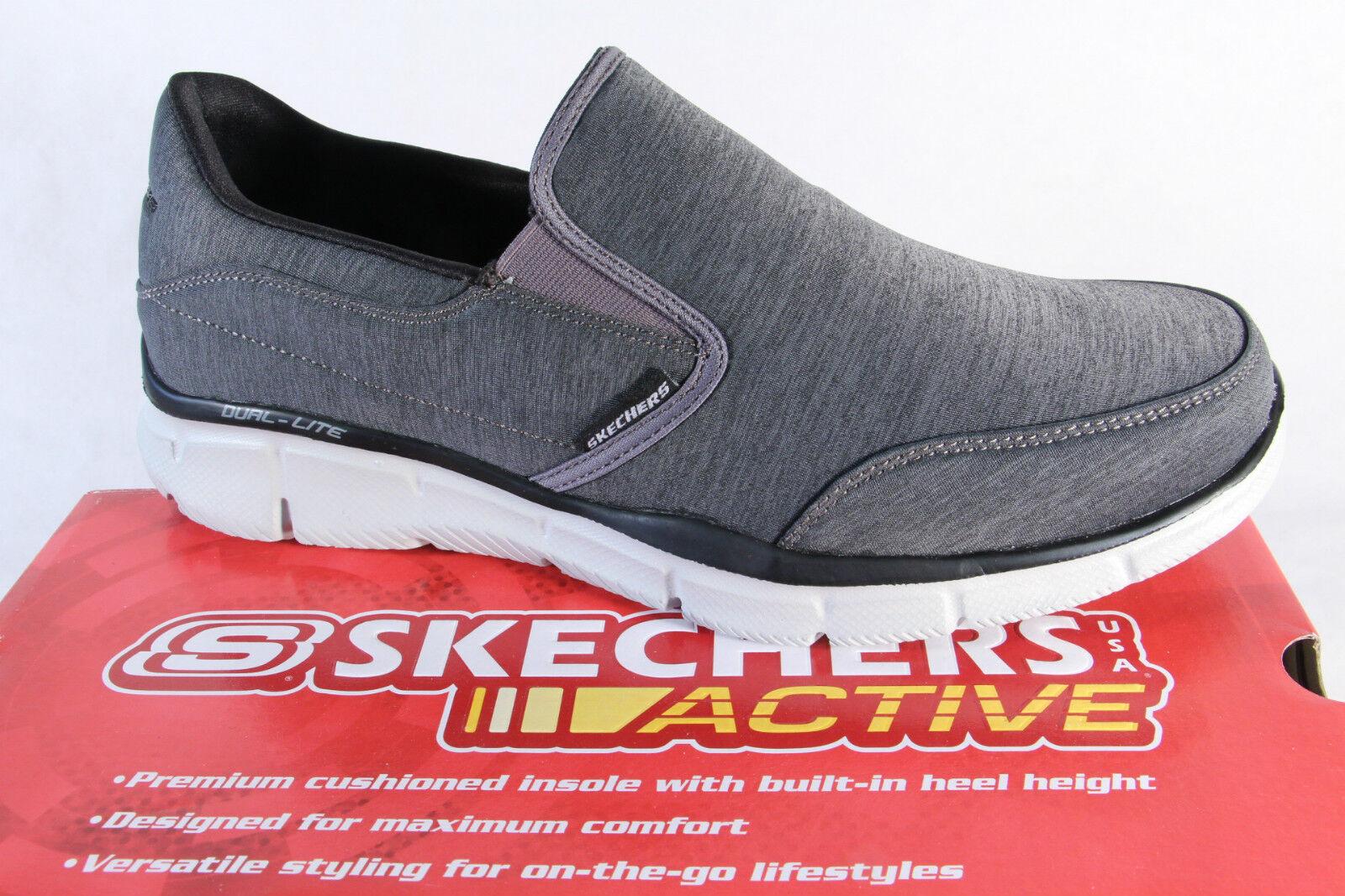 Skchers  Men's Slippers Trainers Low scarpe grigio 51504 Nuovo  shopping online di moda