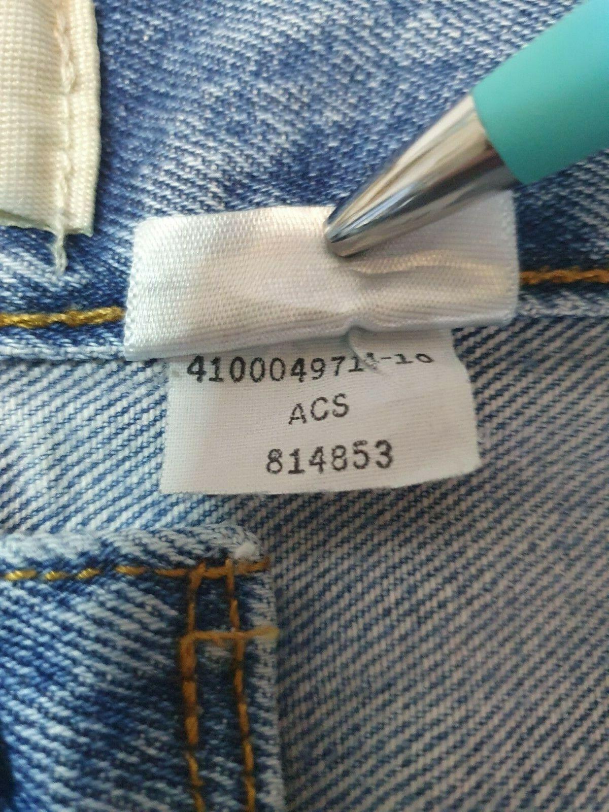 Vintage  Levis 501 XX Jeans Mens 36x30 Distressed… - image 9