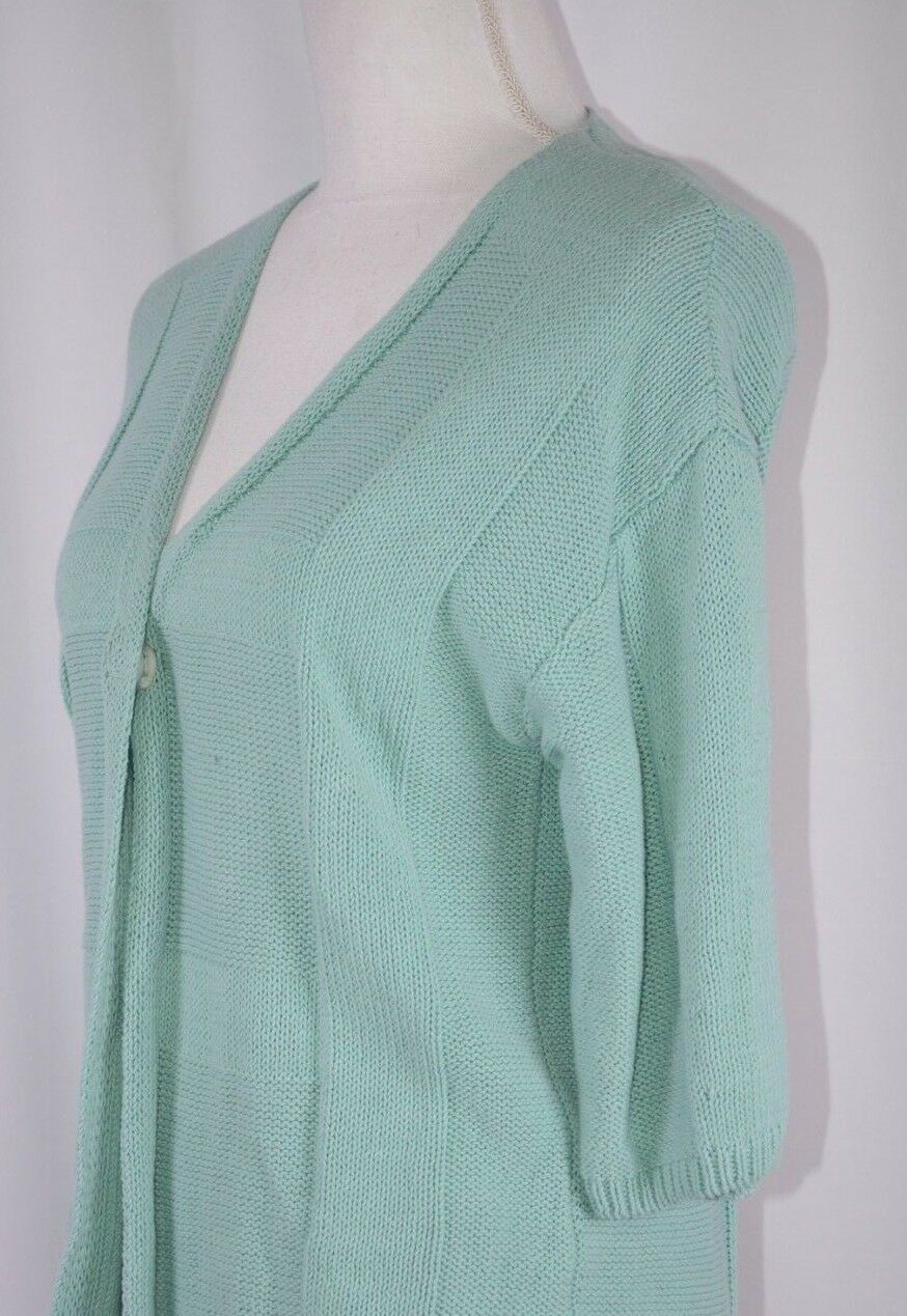 510602668 Small Size Cardigan Snap Single York New 148 Lafayette Linen ...