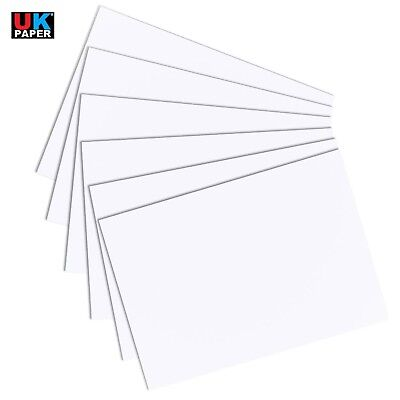 A6 A5 A4 A3 A2 WHITE CARD BLANK CRAFT MAKING THICK PAPER STOCK CARDBOARD PRINTER
