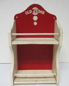 Details About Antique Old Judge Wooden Spice Rack Cabinet David G Evans Coffee Co St Louis