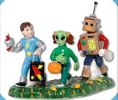 Little Space Explorers Halloween NEW Department Dept. 56 Snow Village D56 SV