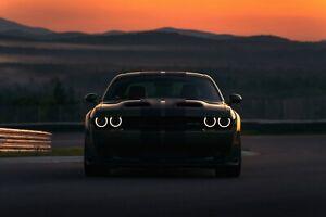 Dodge-Charger-SRT-Hellcat-2019-Auto-Car-Art-Silk-Wall-Poster-Print-24x36-034