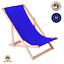 miniatura 13 - Silla tumbona tumbona de playa tumbona para tomar el sol tumbona de jardín tumbona de madera plegable tumbona relax