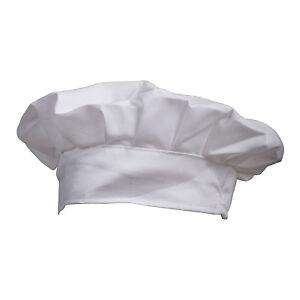 Deguisement-Partie-Boulanger-Cuire-BBQ-Cuisine-Toque-de-Cuisinier-Blanc-H3X9