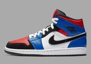 1e8478716e6af3 Nike Air Jordan 1 Mid Top 3 Size 9. 554724-124 royal bred banned