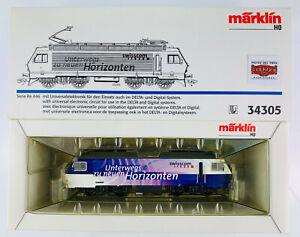 MARKLIN-H0-34305-E-LOK-BR-Re-446-034-SWISSCOM-034-DIGITAL-COMO-NUEVO-TOP