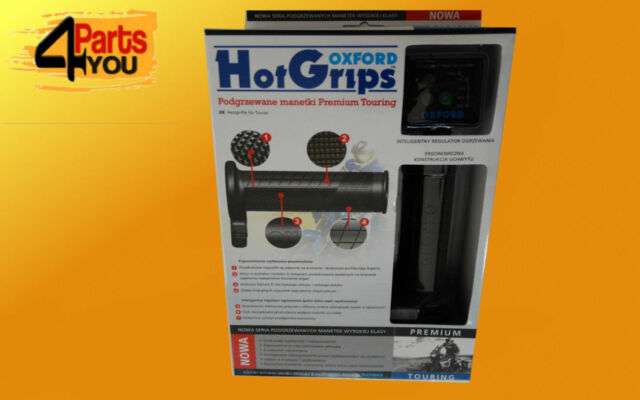 OXFORD HOT GRIPS PREMIUM TOURING HEATED GRIPS OF691 Handlebar Ride QUALITY !