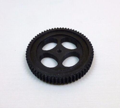 C1 24t spline 65 tooth Follow focus drive gear for RC servo.