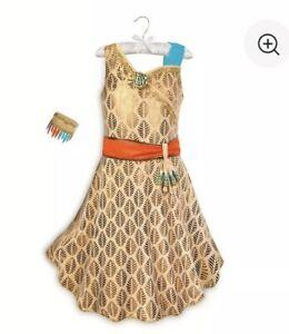 Pocahontas Costume for Kids Disney Store NWT NEW Size 9/10 ...