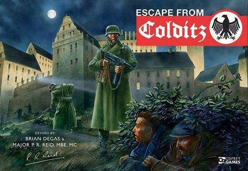 Rymning från Colditz, Boardspel, New av Osprey spel, English utgåva