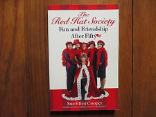 SUE ELLEN COOPER/LINDA MURPHY/MARY MIMBS Signed Book(THE RED HAT SOCIETY-softbac
