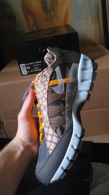 Nike Air Humara '17 Premium size 10 10.5 Dark Grey sky blue Army Alpha Division