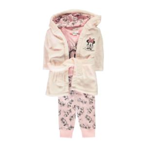 b9a1bccc134db DISNEY lot pyjama robe de chambre MINNIE rose 0-6   6-12   12-18 ou ...