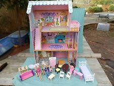 "Kidkraft  Dollhouse- 3 floors  with 4 Dolls & Funitures  47"" x 35"" x 16"""