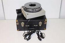 Kodak AF-3  Ektagraphic Slide Projector with travel case carousel vintage RARE