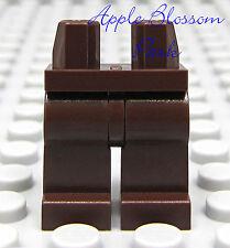 NEW Lego Star Wars Boy/Girl Minifigure Plain DARK BROWN MINIFIG LEGS 8098 7676
