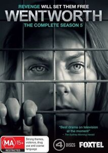 Wentworth-Season-5-DVD-2017-4-Disc-Set-NEW-and-SEALED