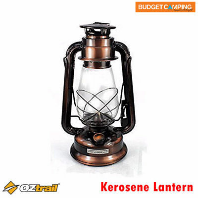 Camping & Hiking Oztrail Bronze Finish Hurricane Lantern Gcl-klb-d Aromatic Character And Agreeable Taste