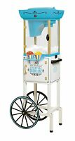 Nostalgia Electrics Scc399 48 Inch Tall Vintage Collection Snow Cone Cart
