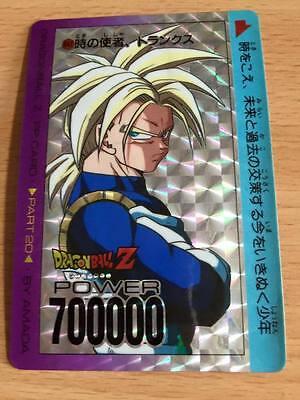 Carte Dragon Ball Z DBZ PP Card Part 16 #678 Prisme AMADA 1992 Version Soft