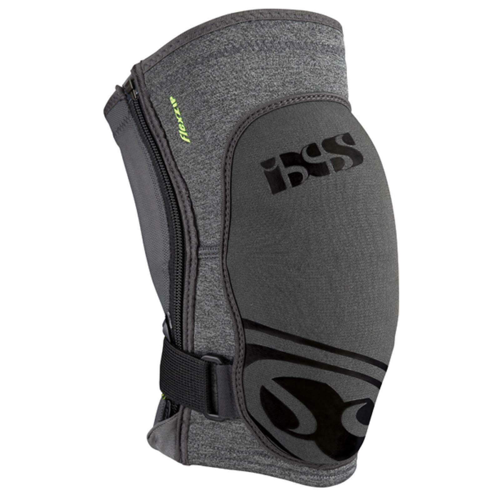 IXS Flow Zip Knee Pads Predector MTB DH FR MX  Downhill Enduro Mountain Bike  discount sale