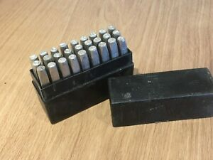 Eclipse-5mm-Letter-Alphabet-Marking-Punches-A-Z-amp-Original-Box-Punch-Engineer
