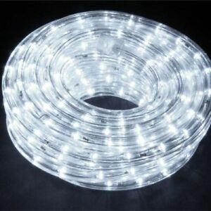 TUBO LED LED COLORATO RGB MULTICOLOR 16 METRI ADDOBBI NEGOZIO ESTERNO GIARDINO