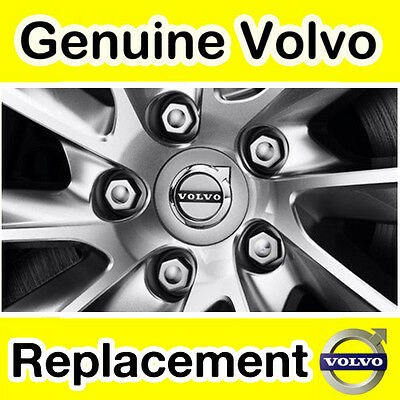 x1 09- Chrome Wheel Bolt Genuine Volvo XC60
