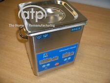 ULTRASONIC CLEANER 1.8ltr DIGITAL DISPLAY 5-60 MINUTE TIMER, HEATING RANGE NEW