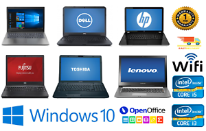 Fast-Barato-Wi-Fi-WINDOWS-10-Laptop-Dual-CORE-i5-i3-4GB-8GB-Ram-320GB-500GB-HDD