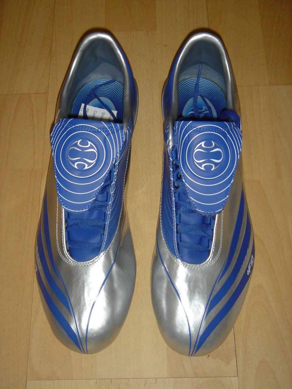Adidas F10.7 Soccer stivali F 10 Football Football Football Soft Ground scarpe grigio NEW c8681d