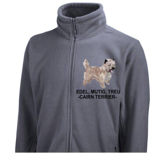 Cairn Siviwonder Hund By Fleecejacke Jacke Stickerei Terrier SAxwv5qR