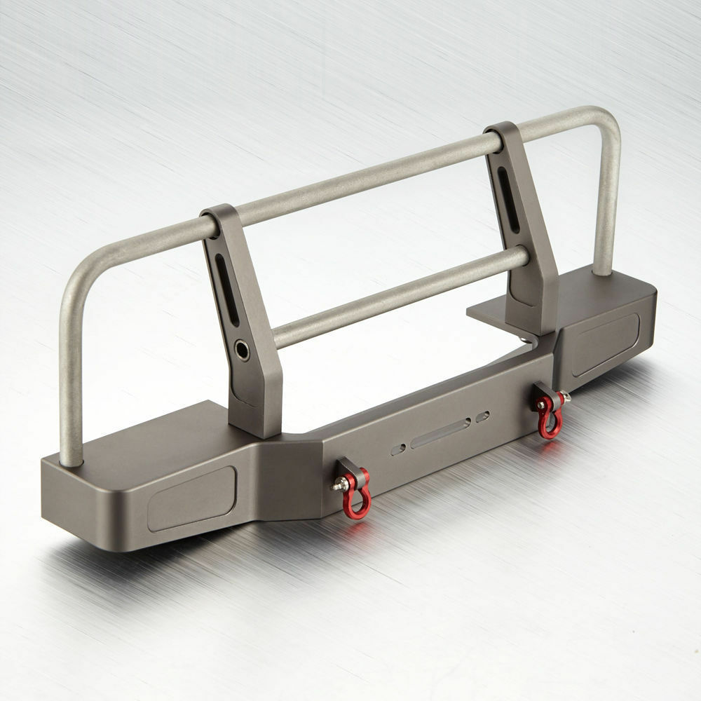 CNC Aluminum Gris Front Bumper for D90 for SCX 10 RC Car Crawler  1464