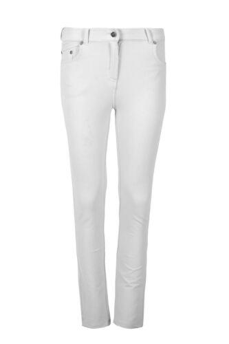 Womens Ladies Skinny Fit Zipped Up Pocket Trousers Legging Denim Jeans Jeggings
