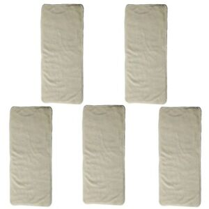 5-Bamboo-Inserts-For-Junior-Big-Cloth-Diaper-Nappy-Reusable-4-Layer