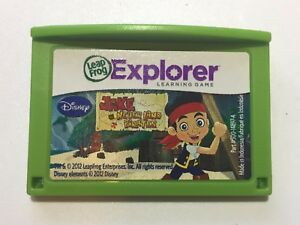LeapFrog Leapster LeapPad Learning Game - Disney Jake and the Never Land Pirates