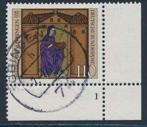 Bund Nr. 1018 FN gestempelt, Eckrand Ecke 4, Formnummer 1 (39439)