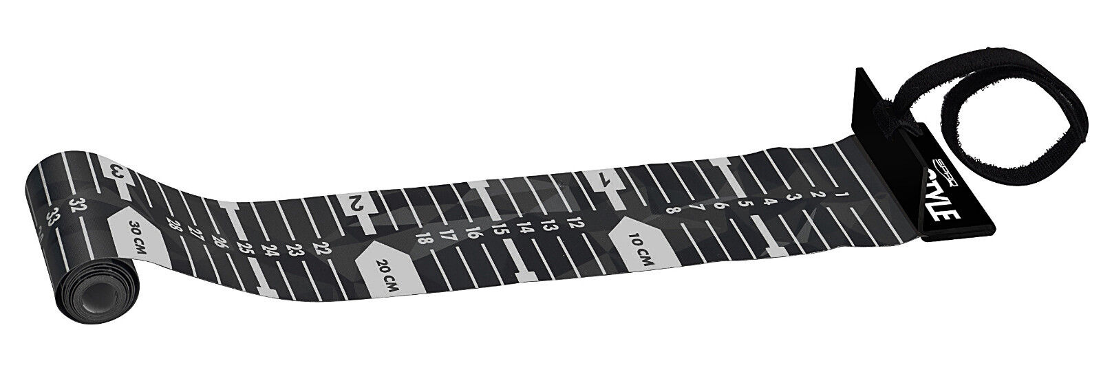 Spro Freestyle Ruler 120cm Measuring Mat zum Messen von Raubfischen Fische messen Ma/ßband zum Spinnfischen Fischma/ßband