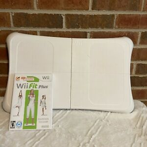 Wii Fit Balance Board & Wii Fit Game Nintendo Tested Works Fitness Game Workout