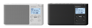 Sony-XDRS41DB-XDRS41DW-Portable-DAB-DAB-Digital-Radio-White-Black-RRP-149