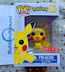 pikachu funko pop pokemon target exclusive ebay