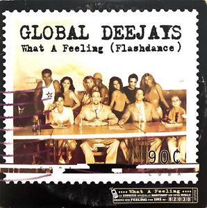 Global-Deejays-Maxi-CD-What-A-Feeling-Flashdance-France-VG-EX