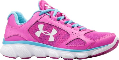 under armour assert ua youth girls womens trainers shoes pink 1252349-675